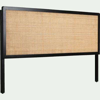 Tête de lit en bois et rotin L170cm-GALANT