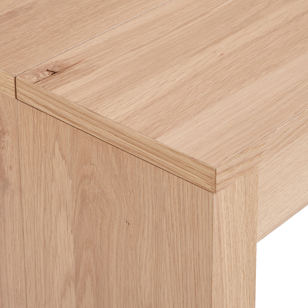 Table console extensible - 2 à 8 convives-FELICIA