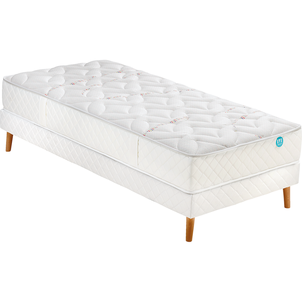 matelas ressorts ensach s merinos 26 cm 90x200 cm molky 90x200 cm matelas 1 place alinea. Black Bedroom Furniture Sets. Home Design Ideas