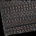 Tapis d'extérieur à motifs noir 160x230 cm-FUVEAU