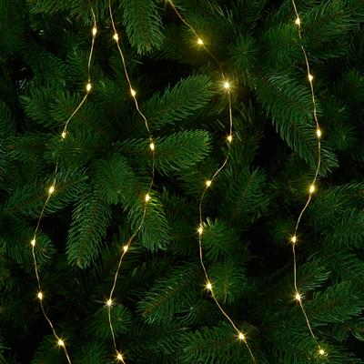 Guirlande lumineuse 100cm - 320 microLED blanc chaud-VALANT