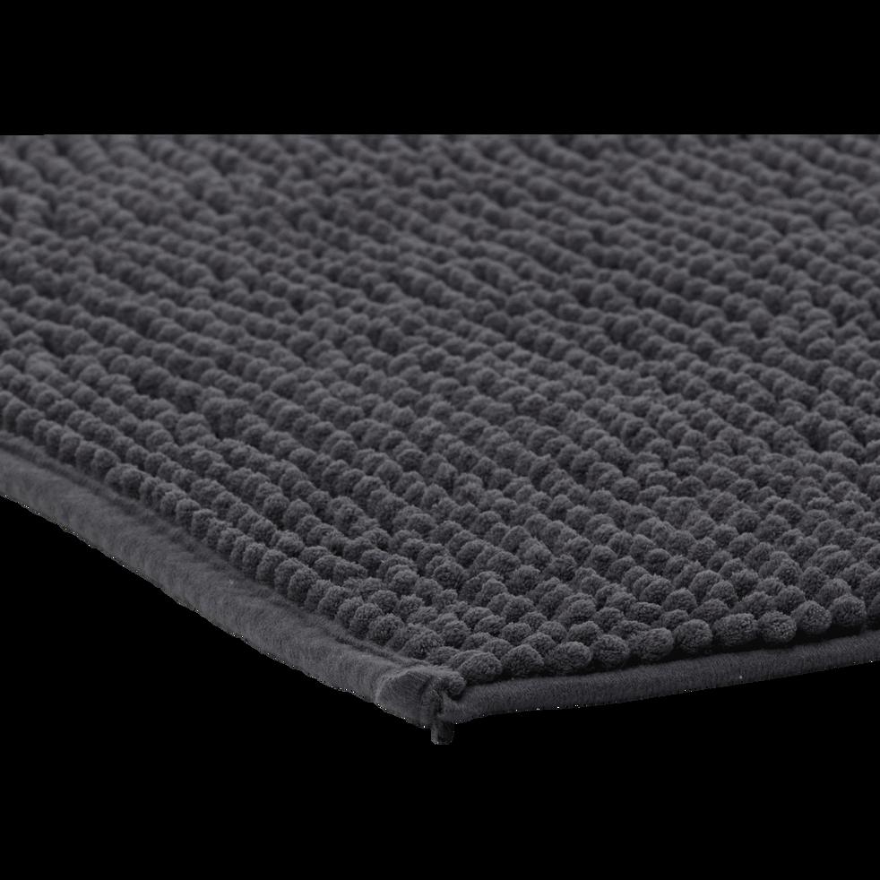 Tapis de bain 50x80cm gris anthracite-PICO