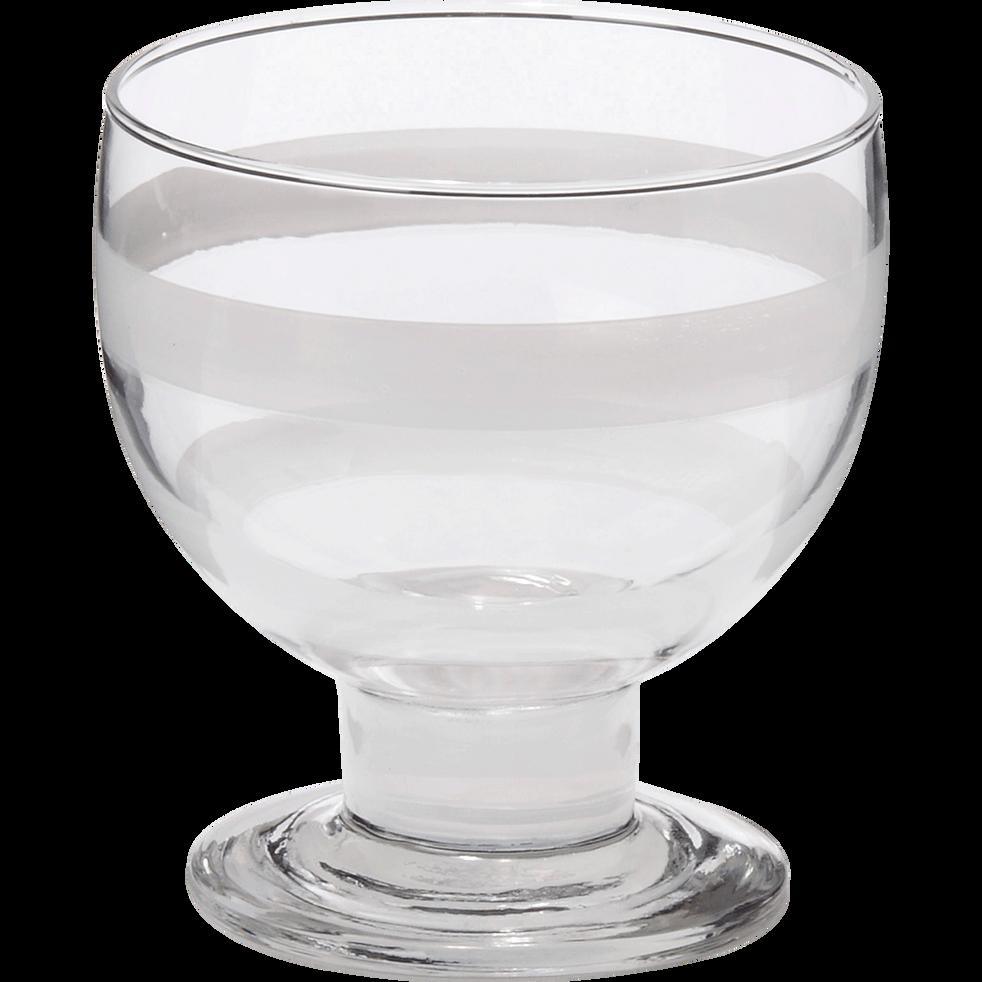 Coupe à glace en verre-Justine