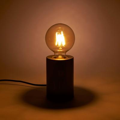 Ampoule LED décorative ambre D9,5cm culot E27-GLOBE
