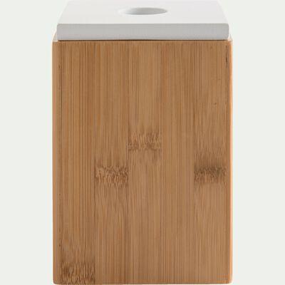 Boite à couvercle H15cm en bambou-THAIS