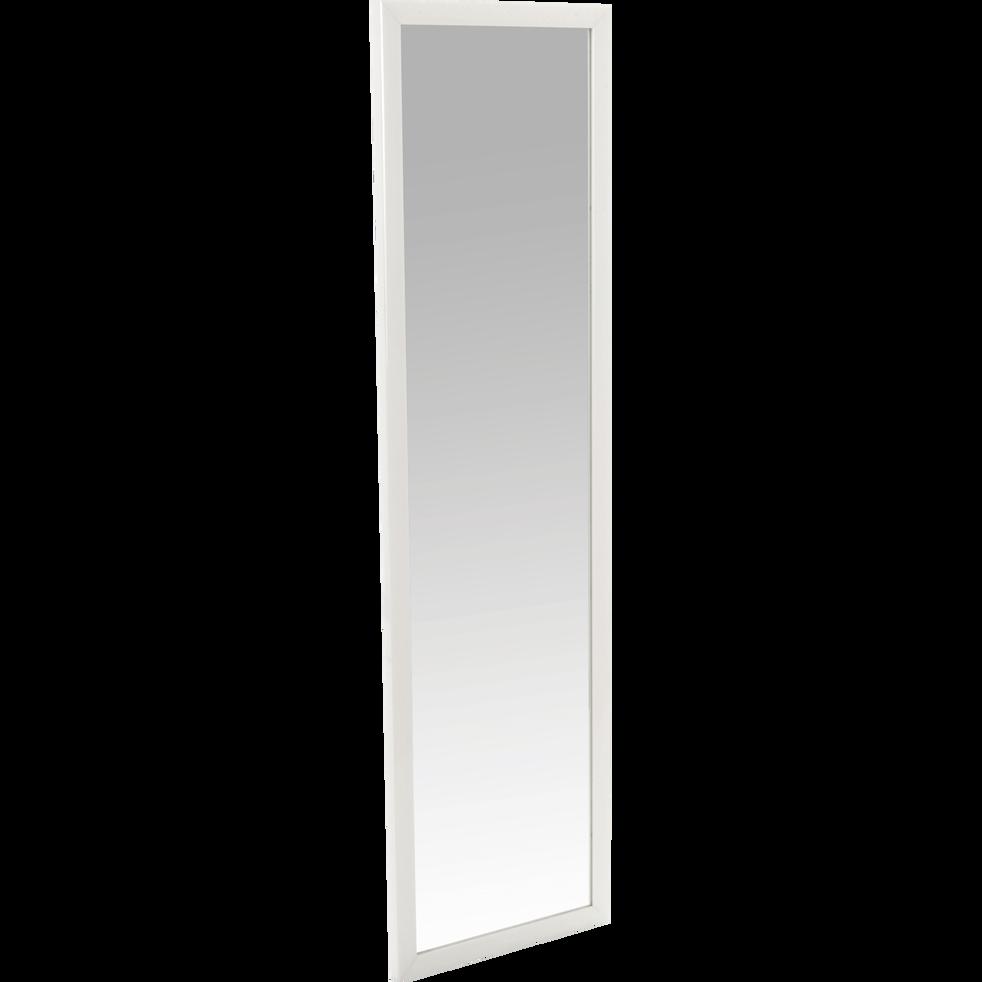 miroir rectangulaire blanc 30x120cm chipi miroirs d co alinea. Black Bedroom Furniture Sets. Home Design Ideas