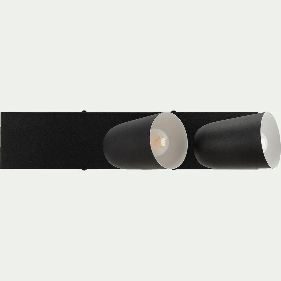 Barre 2 spots - noir-AYR