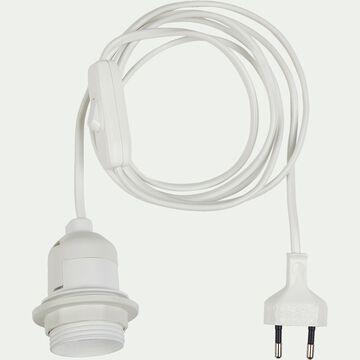 Monture électrique E27 blanche pour applique L2m-MONTURE