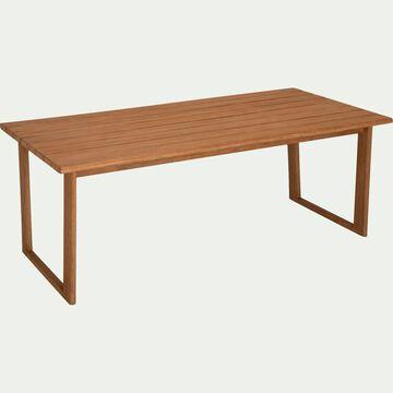 Table de jardin en eucalyptus (8 à 10 places)-ROUSTIDO