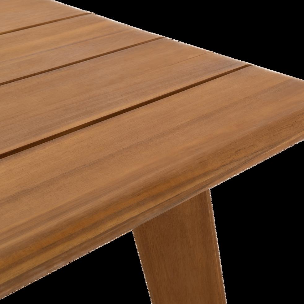 Table de jardin extensible en acacia (6 à 10 places)-DEGABY