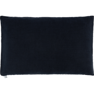 Coussin en lin lavé gris calabrun 40x60cm-VENCE