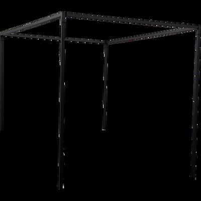 Baldaquin en acier Noir pour lit 2 places Anvers - 160x200 cm-ANVERS