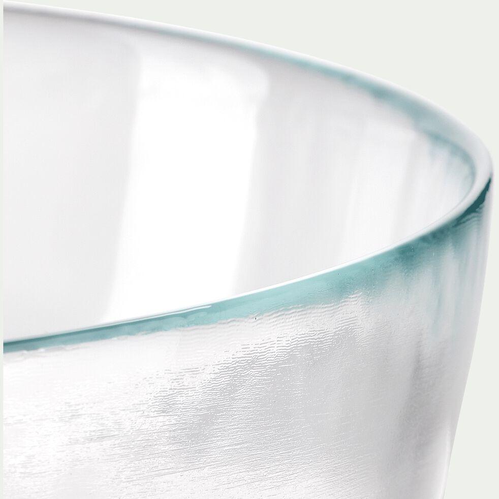 Saladier en verre strié D21cm-ATLAS
