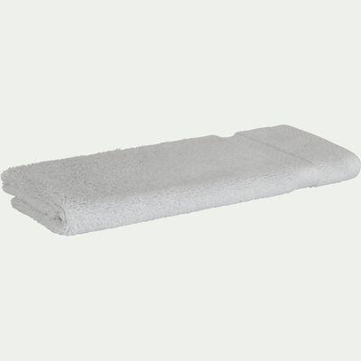 Serviette invité en coton 30x50cm gris borie-AZUR