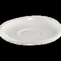 Sous-tasse en porcelaine légère qualité hôtelière-SENANQUE