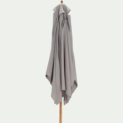 Parasol rectangulaire droit en eucalyptus 2x3m-VALLORIA