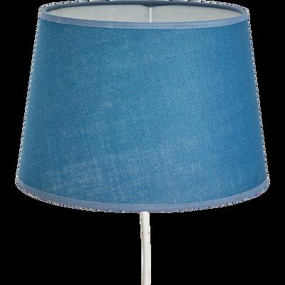 Abat-jour tambour bleu figuerolles-MISTRAL