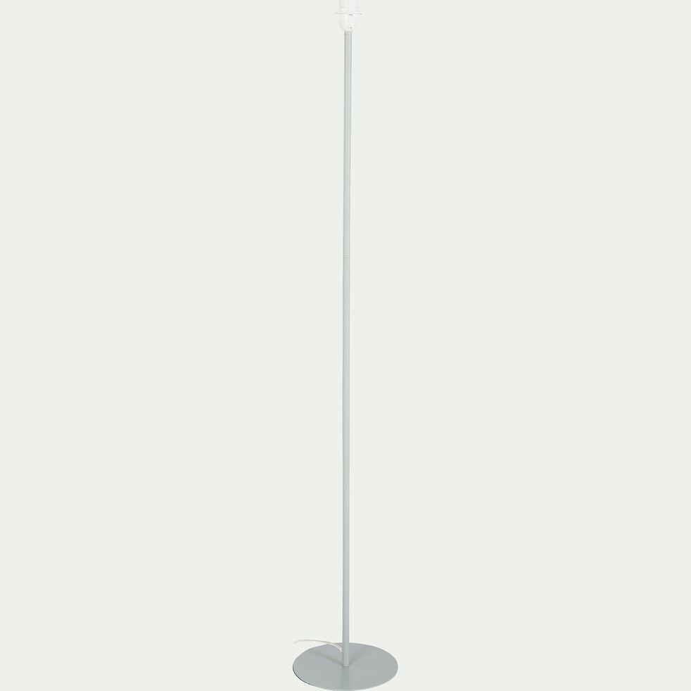 Pied de lampadaire en métal vert olivier H141cm-OLIVIO