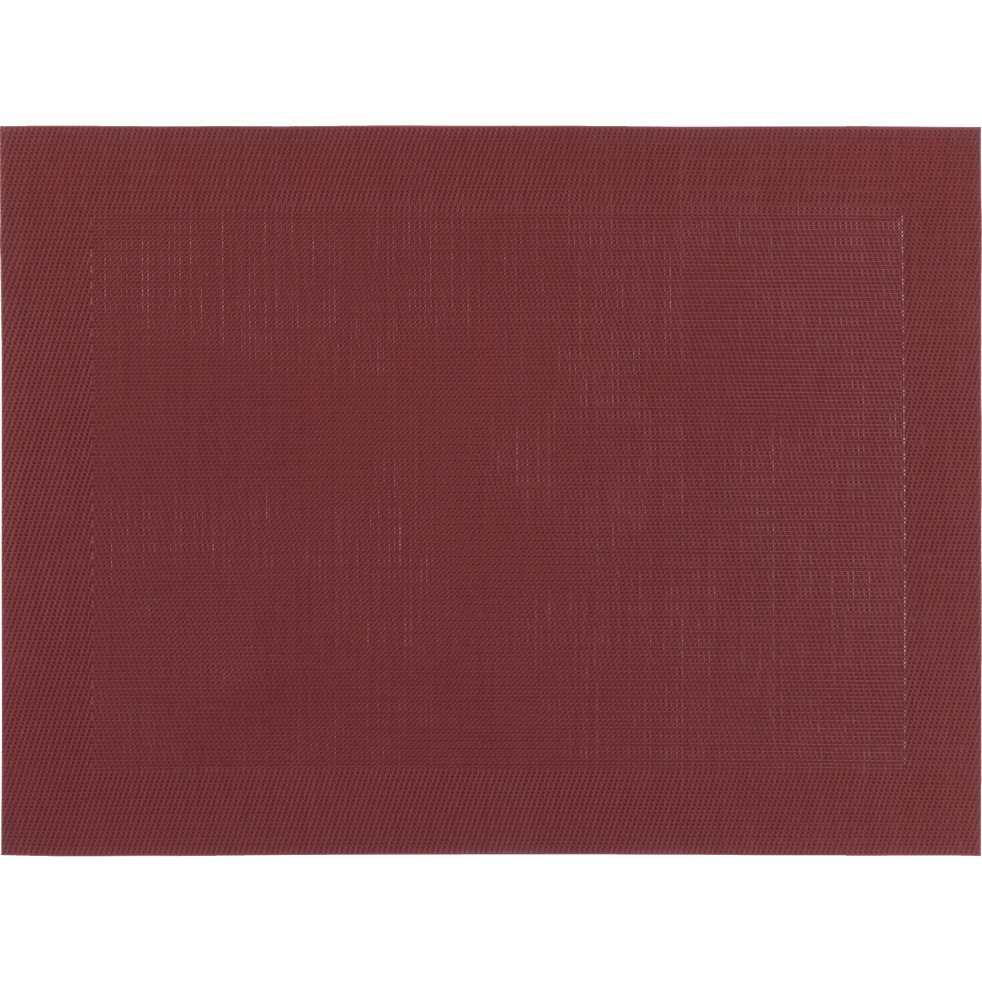 Set de table en PVC rouge sumac 36x48cm-VIGNE