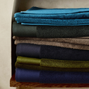 Lot de 2 gants en coton bleu myrte-AZUR