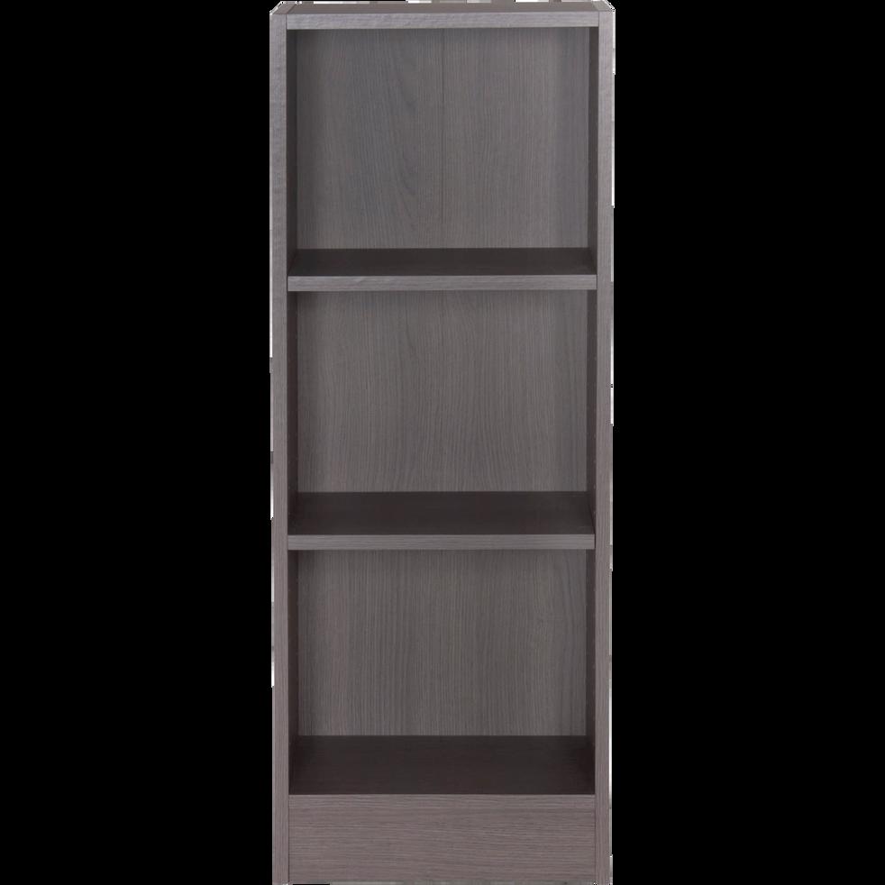 petite biblioth que 3 tablettes coloris ch ne gris l40cm biala rangements composer alinea. Black Bedroom Furniture Sets. Home Design Ideas