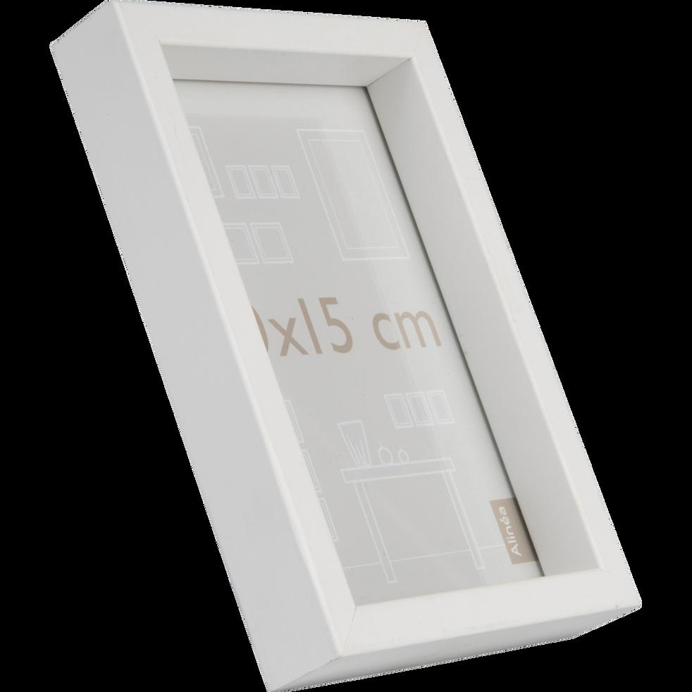 Cadre photo en bois blanc (plusieurs coloris et tailles)-HAPA