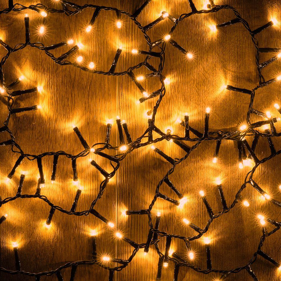 Guirlande électrique - D10x1100cm jaune-ANDRIA