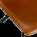 Chaises en simili noisette-MALBO