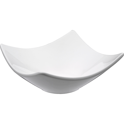Coupelle en porcelaine blanche 10x10cm-Queen