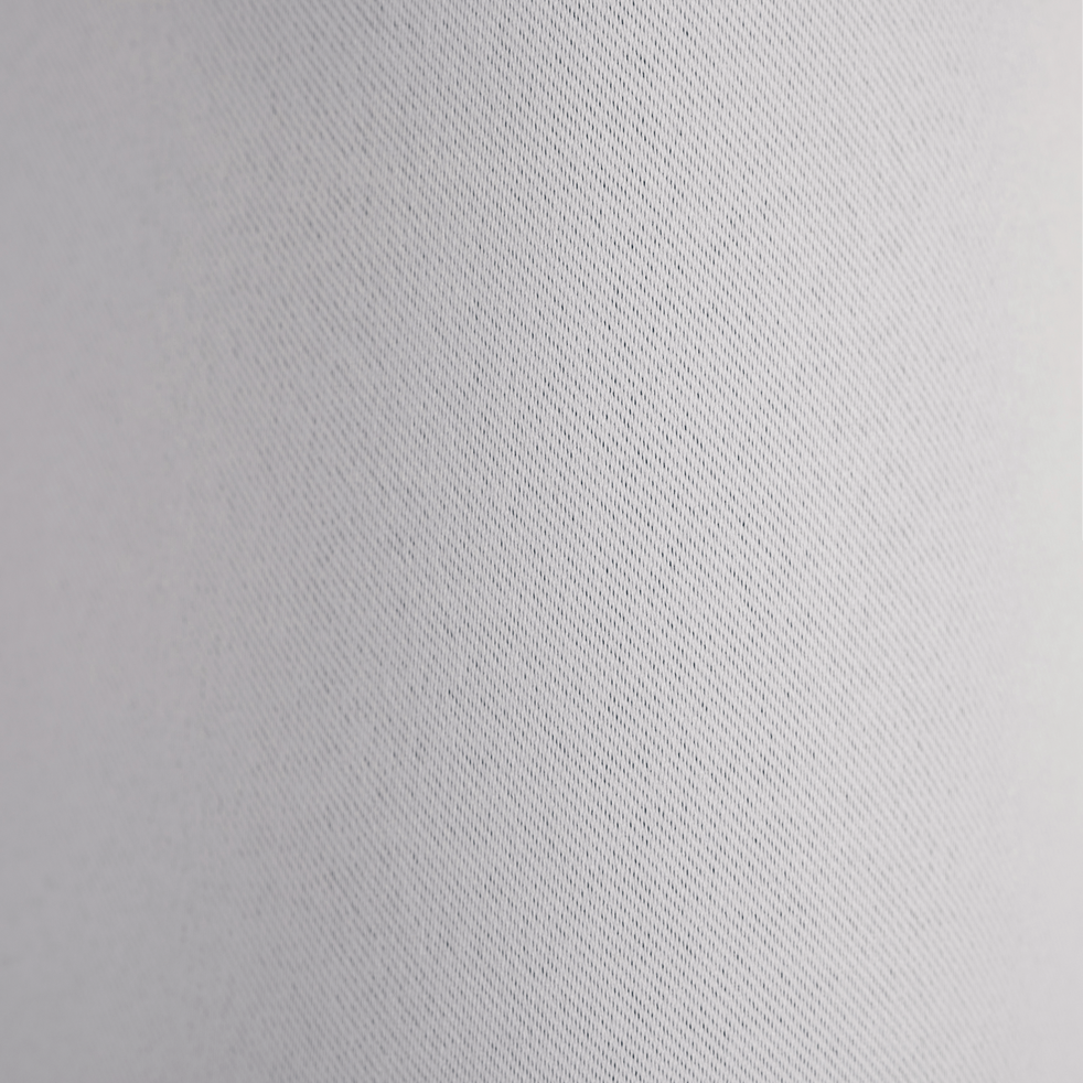 Rideau occultant à oeillets gris borie 140x250cm-GORDES
