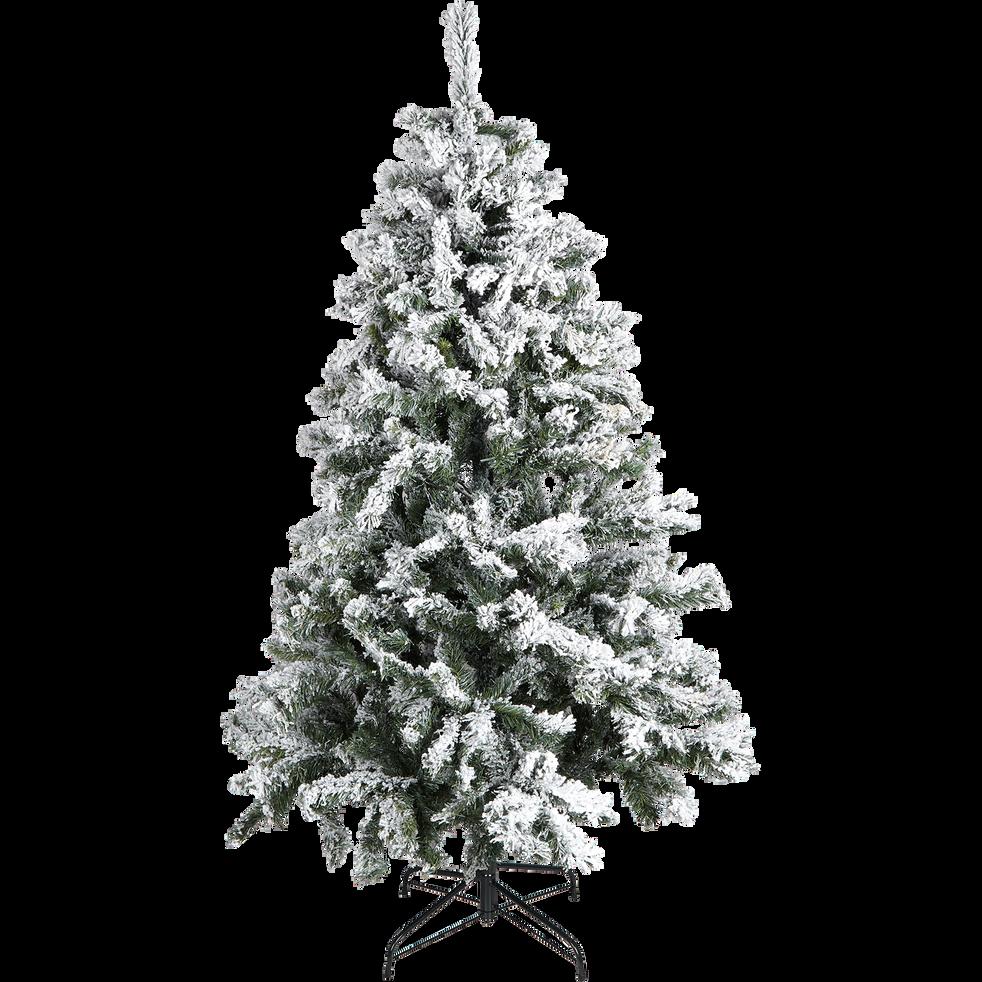 Sapin artificiel enneig 180cm londra 180cm d co - Decoration sapin enneige ...