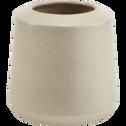 Vase en céramique gris H19cm-APHELIE