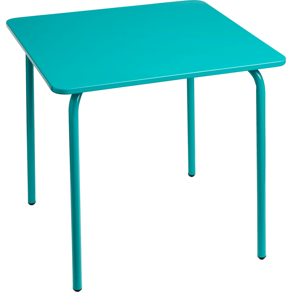 table de jardin pour enfant bleu cotia tables et. Black Bedroom Furniture Sets. Home Design Ideas