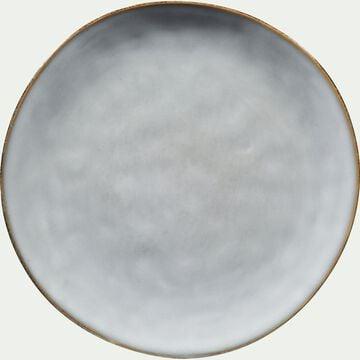Assiette à dessert en grès bleu D20cm-ADAM