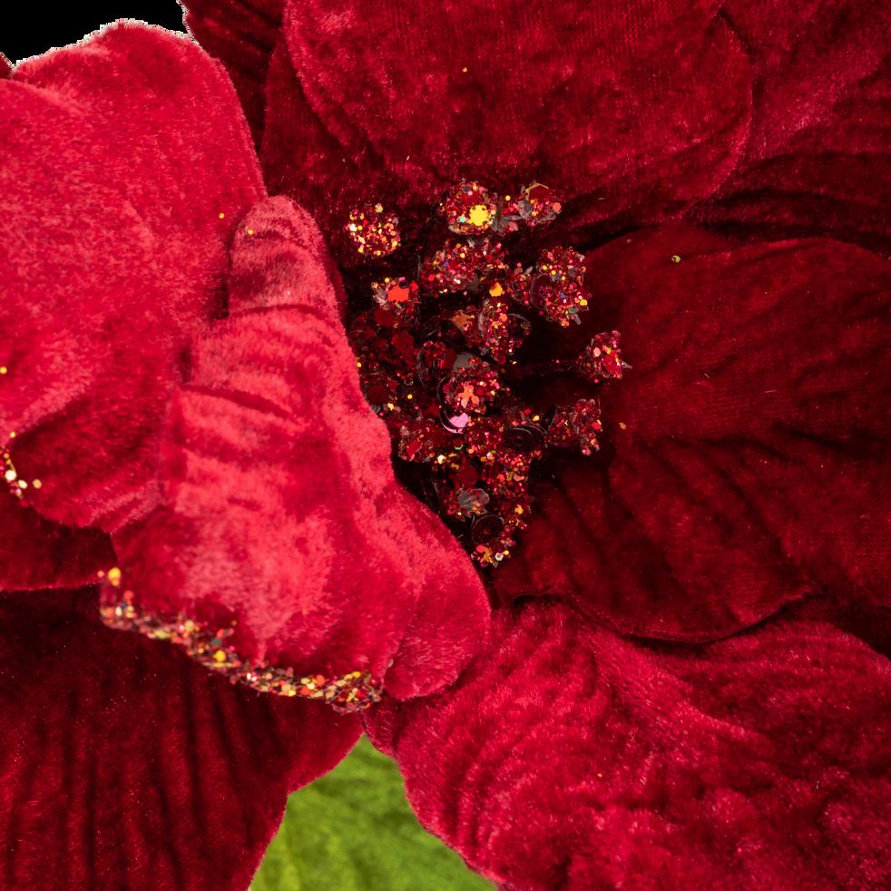 Fleur artificielle rouge H75cm-HANEZO