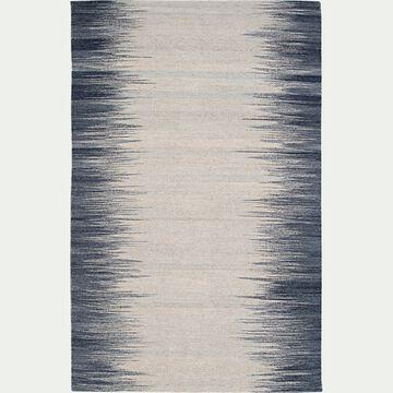 Tapis à motif en laine - gris et blanc 200x300cm-IKAT