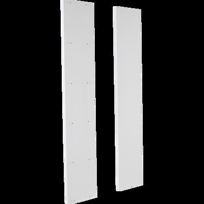 Lot de 2 montants extérieurs blancs L206cm-Lorena