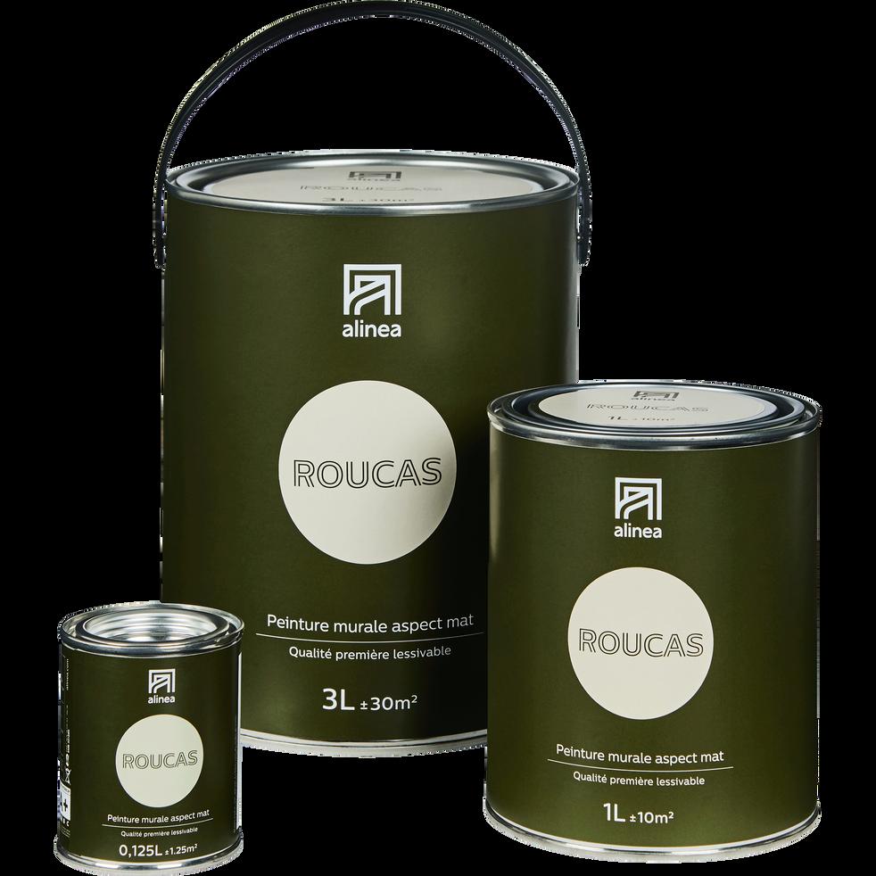 Peinture acrylique mate multi-supports 0,125L beige roucas-PEINTURE