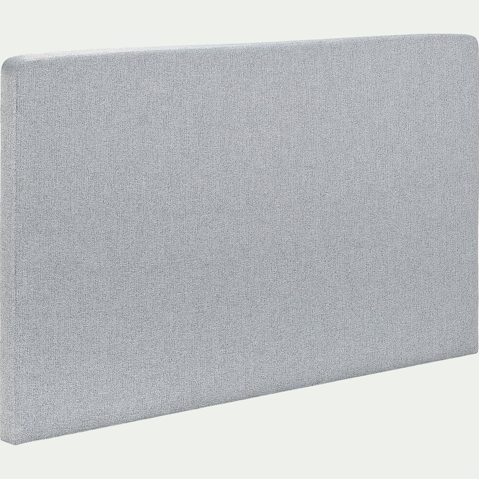 Tête de lit droite 110x190cm gris clair-MELETTE