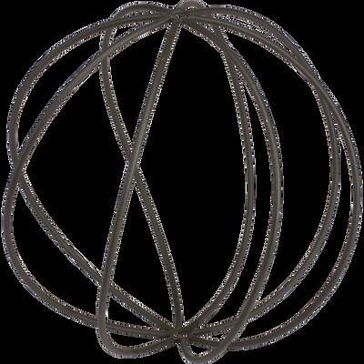 Sphère déco de jardin D42cm-Leisse