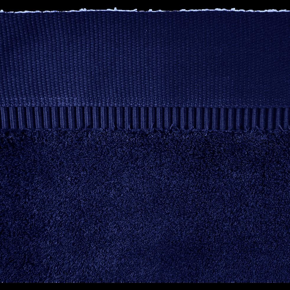Linge de toilette bleu myrtre-ARROS