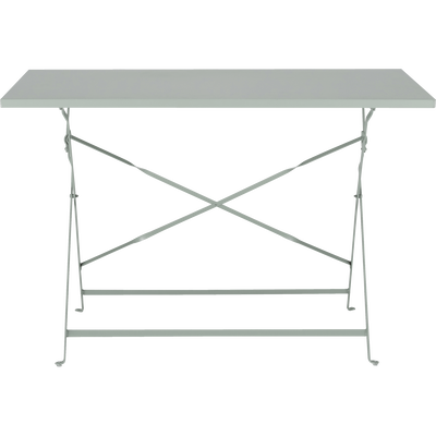 Table de jardin pliante vert olivier L110cm (4 places)-PIMS