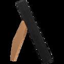 Cadre photo en bois noir (plusieurs coloris et tailles)-HAPA