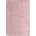Tapis shaggy rose poudré 120x170cm-CLOUD