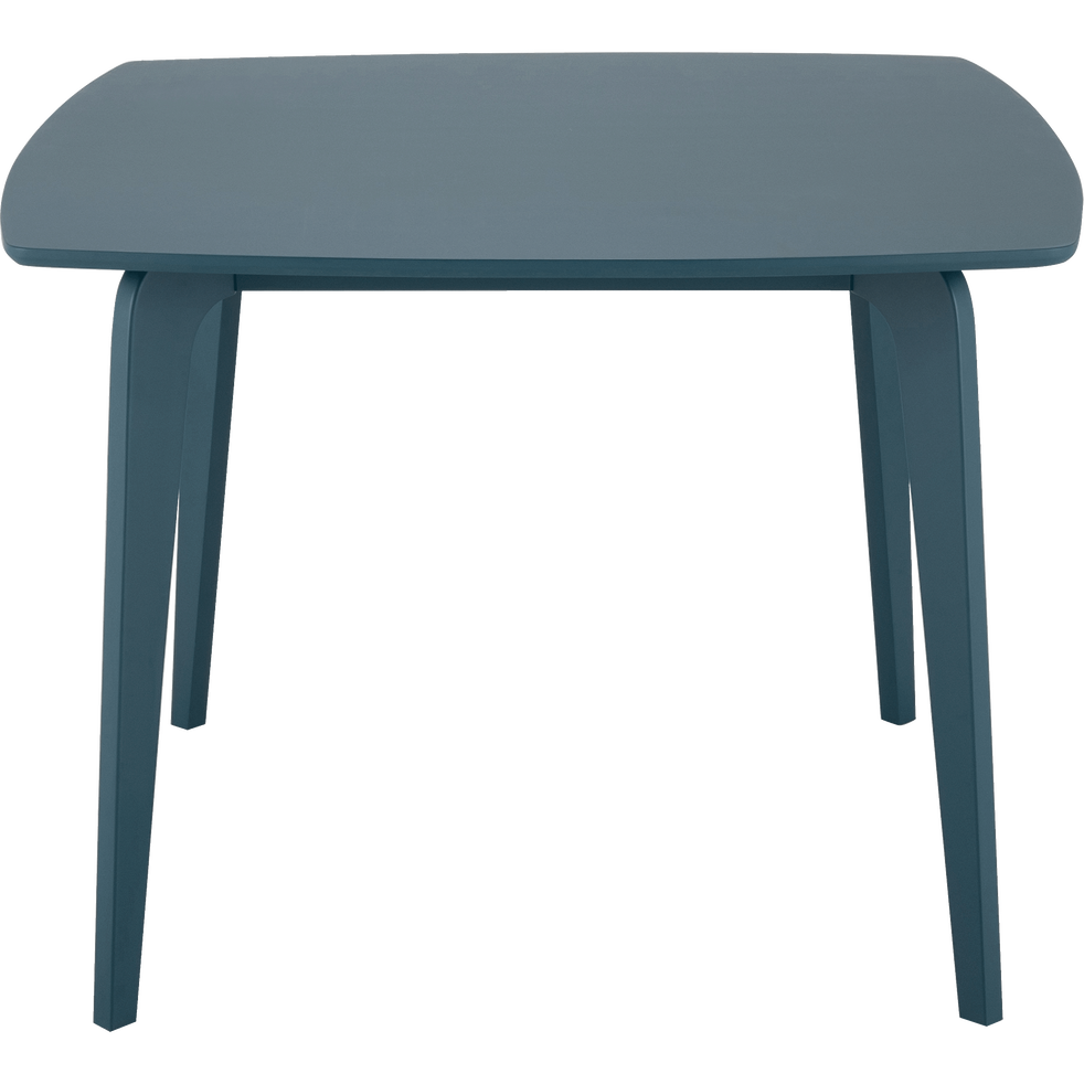Table de repas carrée bleu figuerolles  - 4 places-SUZIE