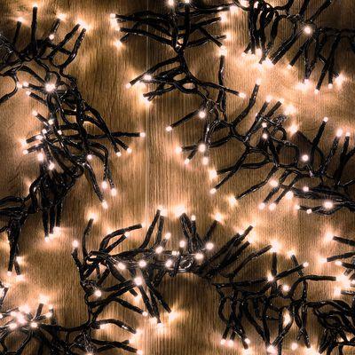 Guirlande électrique - D10x560cm blanc-ANDRIA