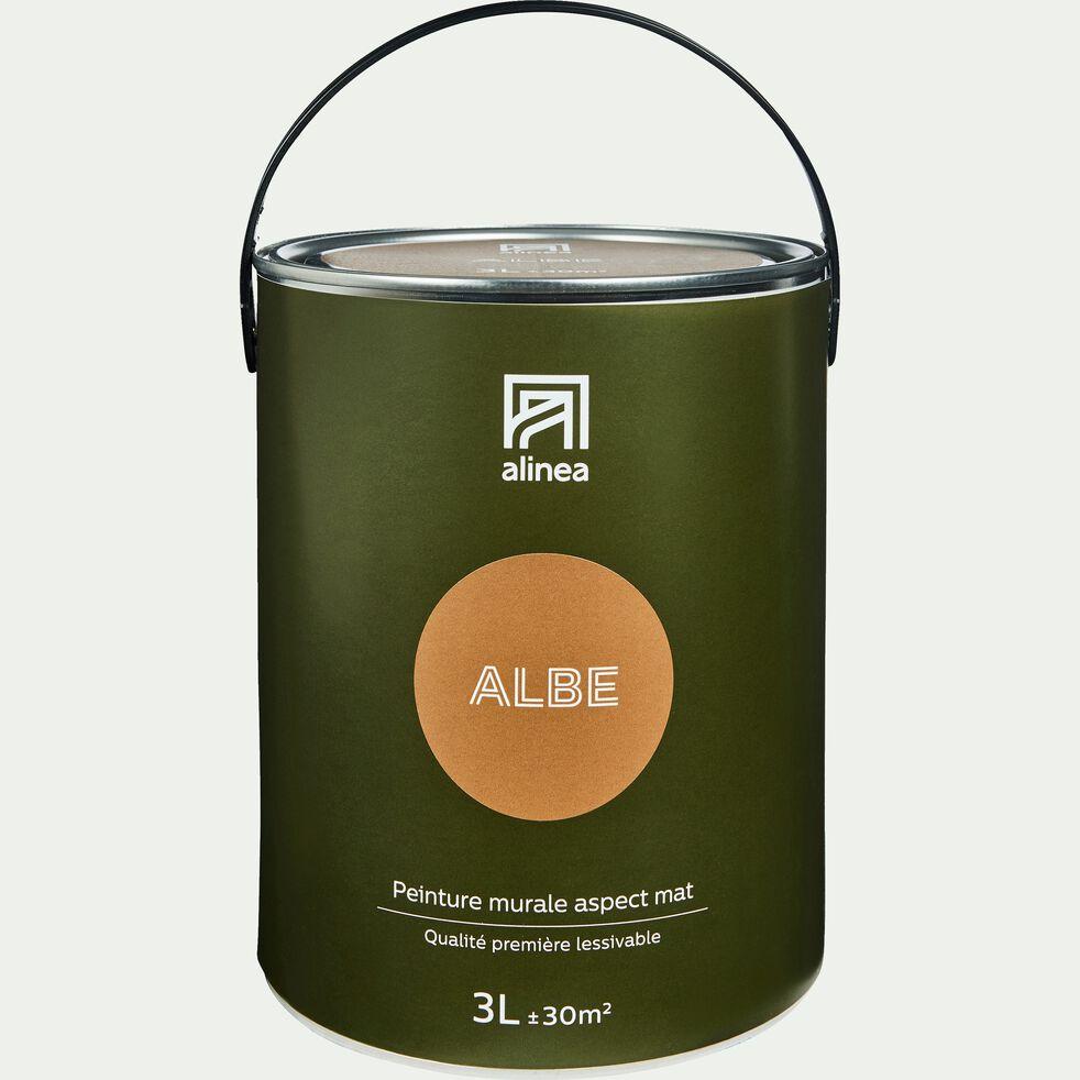 Peinture acrylique mate multi-supports 3L Brun Albe-PEINTURE
