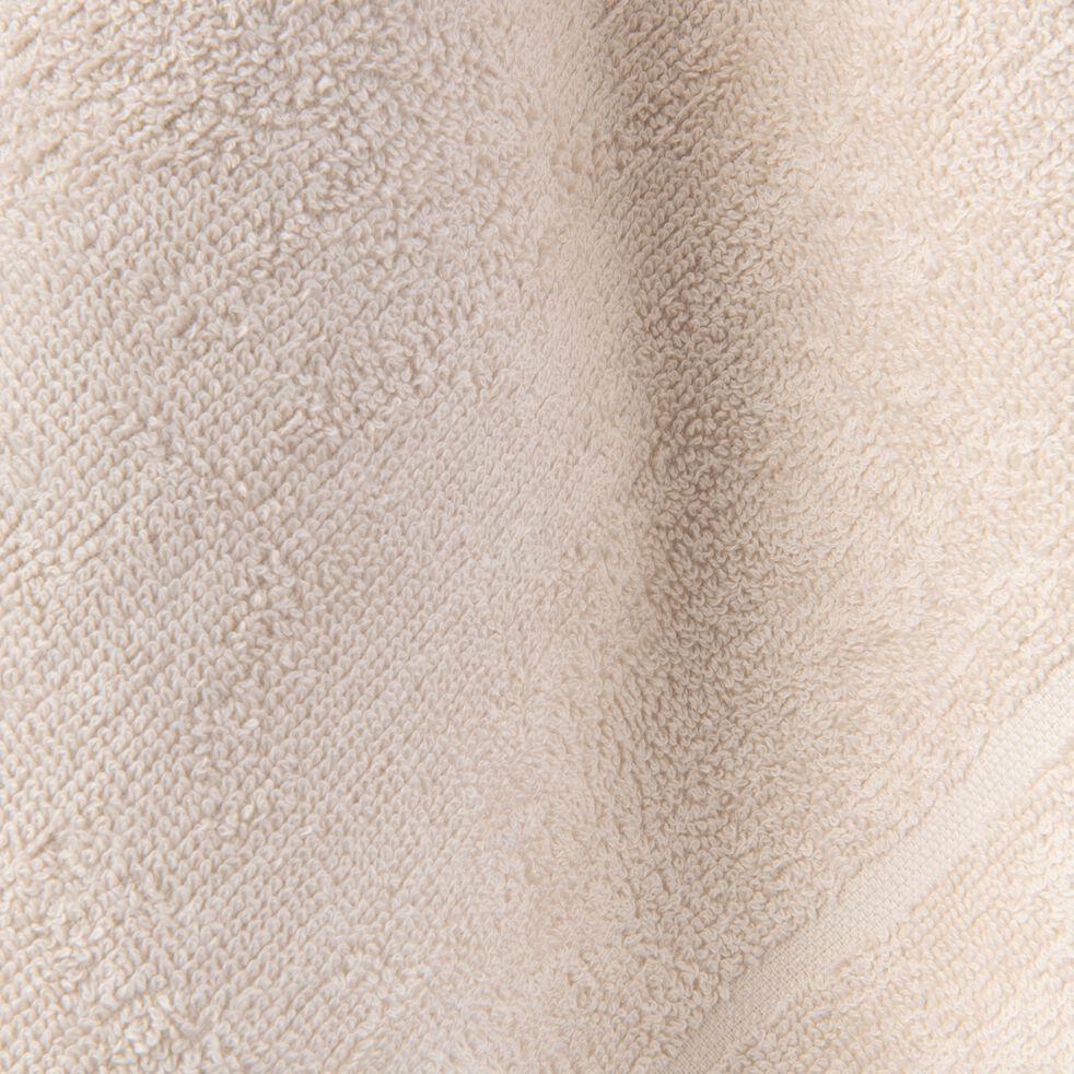 Carré éponge 50x50cm en coton beige roucas-PANISSE