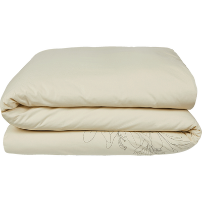 Housse de couette en coton imprimé Agapanthe 260x240cm-ASTI