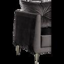 Fauteuil en tissu noir calabrun-ASTELLO